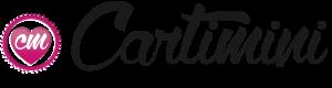 Logo texte anniversaire avec Cartimini