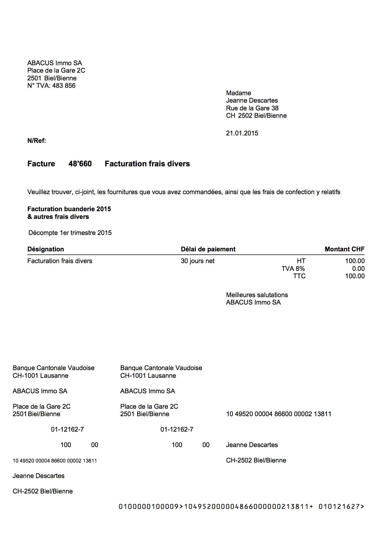 Information facture : utilité de la facture